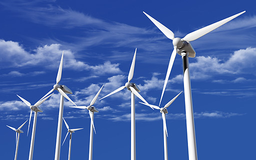 Renewable energy (wind and hydro-electric power)